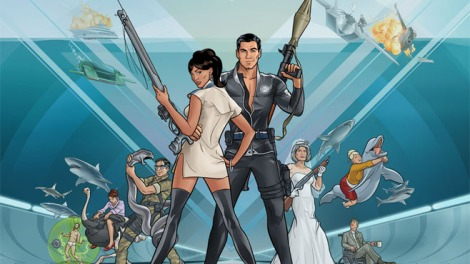 Get ready for another season of Archer. Moving to Monday nights at 10pm, Archer Season 5 starts on January 13th. Photo courtesy of http://www.craveonline.com