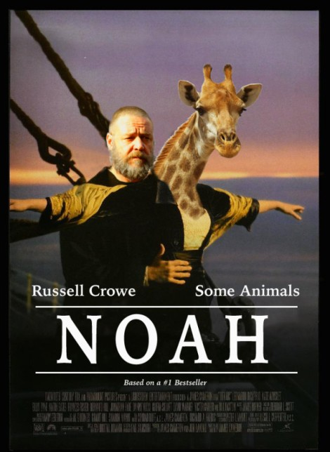 Noah Parody Poster Giraffe