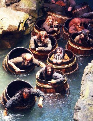 Hobbit Smaug Barrels