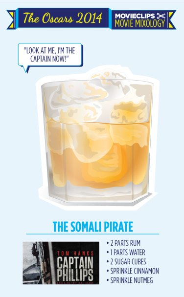 Captain Phillips Cocktail Oscars