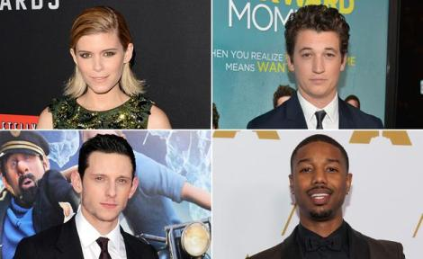 The Fantastic Four reboot has its official cast! Kate Mara, Miles Teller, Jamie Bell, Michael B. Jordan Photo courtesy of http://www.nydailynews.com
